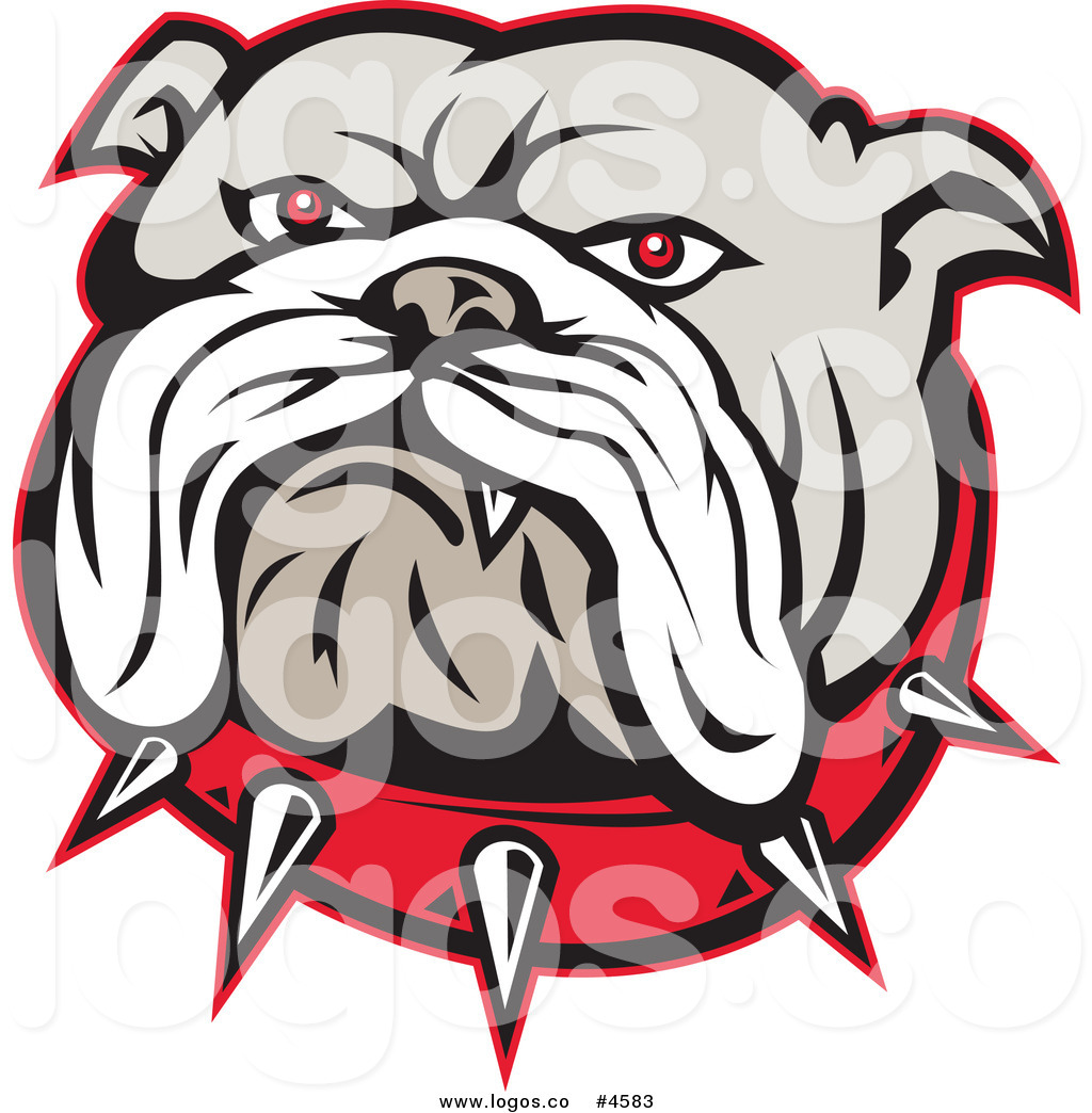 Bulldogs Logo Cut Image   Vector Clip Art Online Royalty Free   M5x