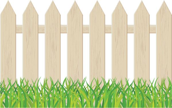 Cartoon Clip Art Fence Free Vector   4vector