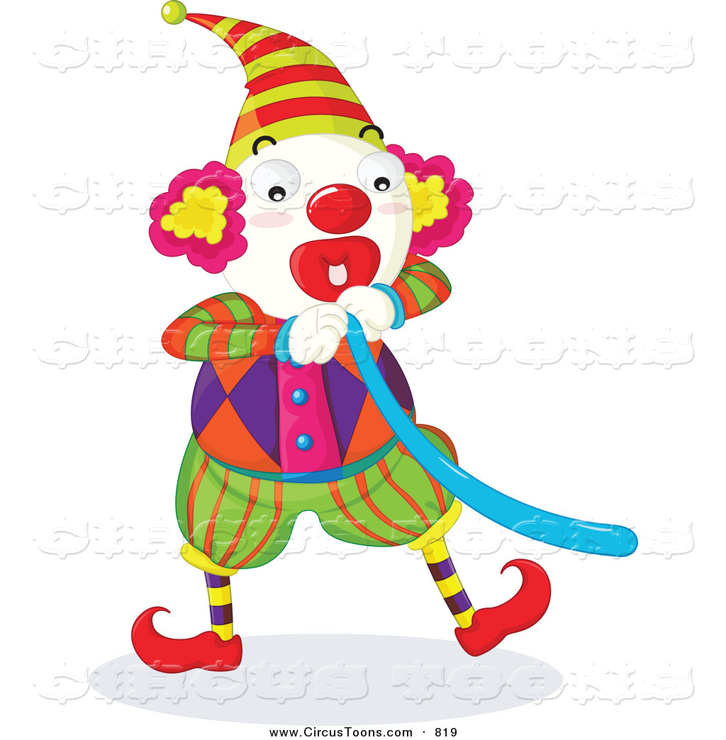 clip art clowns with balloons - photo #19