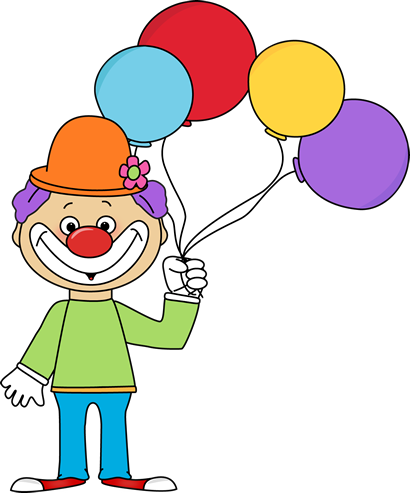 Clown With Balloons Clip Art   Clown With Balloons Image