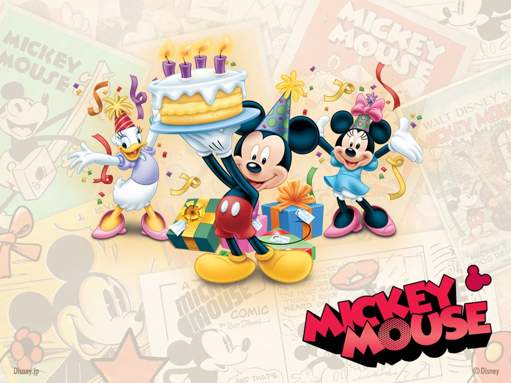 Description For Mickey Mouse Clubhouse Birthday Clipart Mickey Mouse