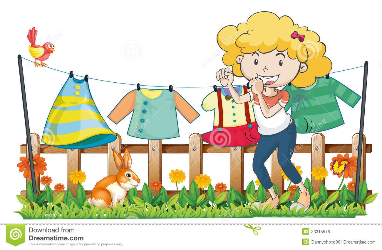 clipart hanging clothes - photo #10