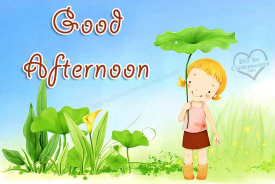 Good Afternoon Clipart - Clipart Kid