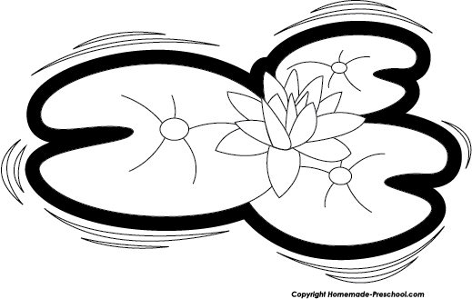 Lily Pad Clipart - Clipart Suggest