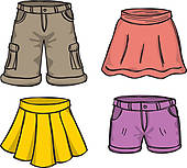 There Is 34 Cargo Shorts Frees All Used For Free Clipart