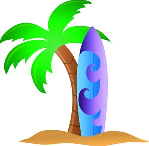 Tropical Surfboard Clipart Surfing Clipart Surf Pictures Of