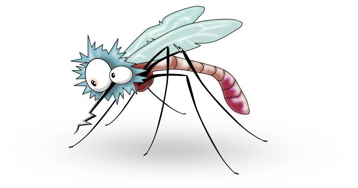 Cartoon Mosquito Clipart - Clipart Kid