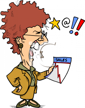 Angry Teacher Clip Art