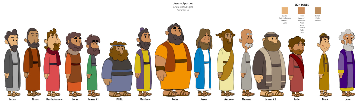 Bible Character Clipart - Clipart Kid