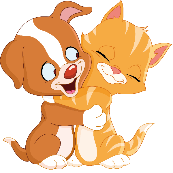 Cat And Dog Cartoon Pictures