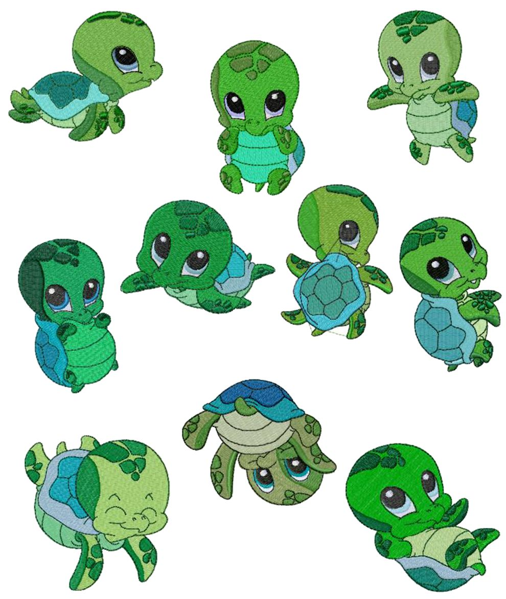 Cute Sea Turtle Clipart   Clipart Panda   Free Clipart Images