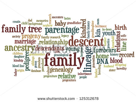 Family Genealogy And Family History Research Horizontal Orientation