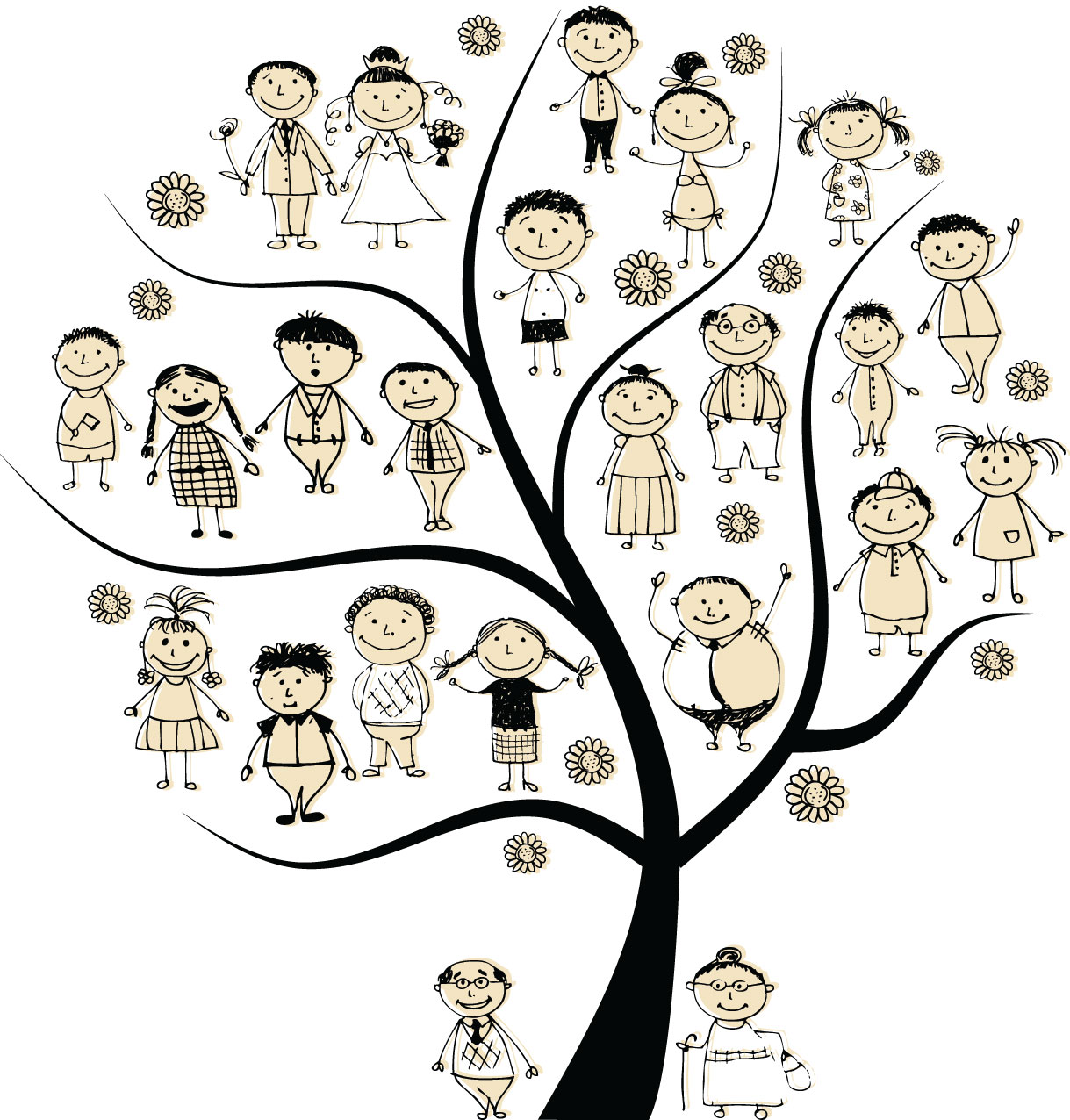 Family Tree For Family History Day