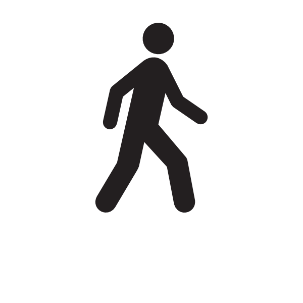 Fitness Walking Clipart