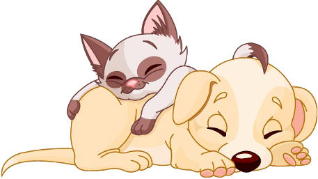 Free Cartoon Cat And Dog Clip Art Images