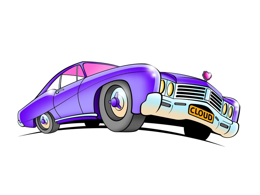 Muscle Car Cartoon Cartoon Muscle Car Drawings Clipart