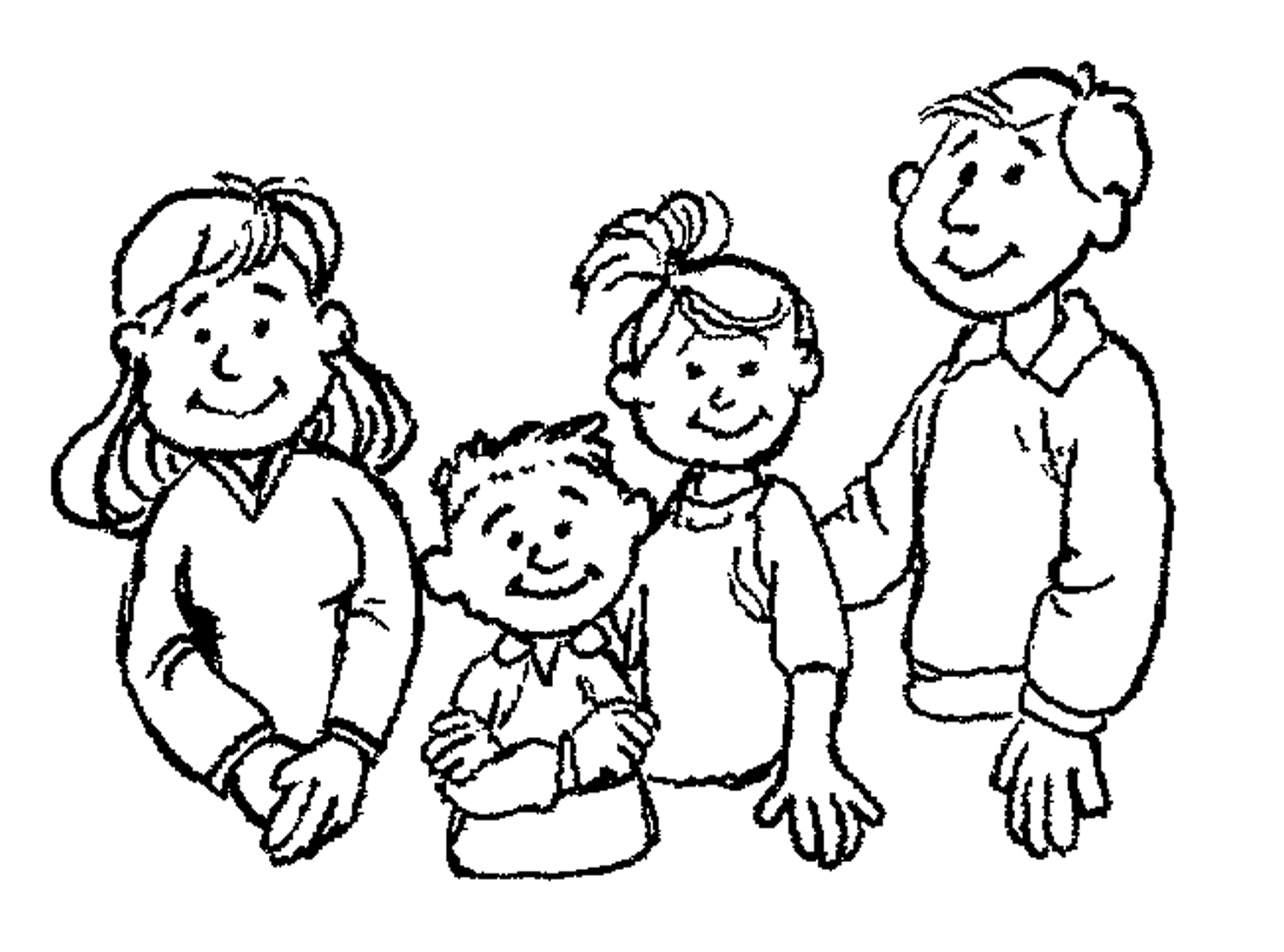 My Family Clipart - Clipart Kid