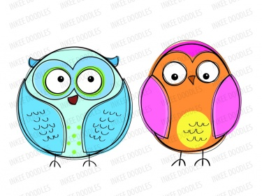 Owls Clip Art Set   Cute Cartoon Owl Pictures Baby Shower Owl Clipart