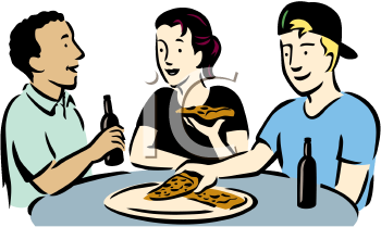 People Eating Clipart - Clipart Kid