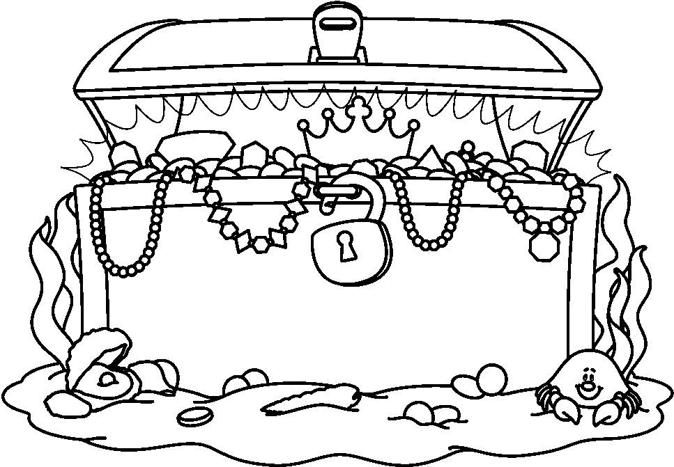 Pirate Treasure Chest Clip Art   Cliparts Co