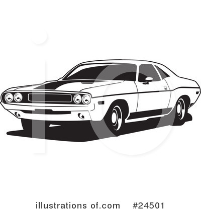 Royalty Free  Rf  Cars Clipart Illustration By David Rey   Stock