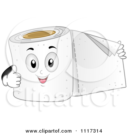 Royalty Free  Rf  Toilet Paper Clipart   Illustrations  1