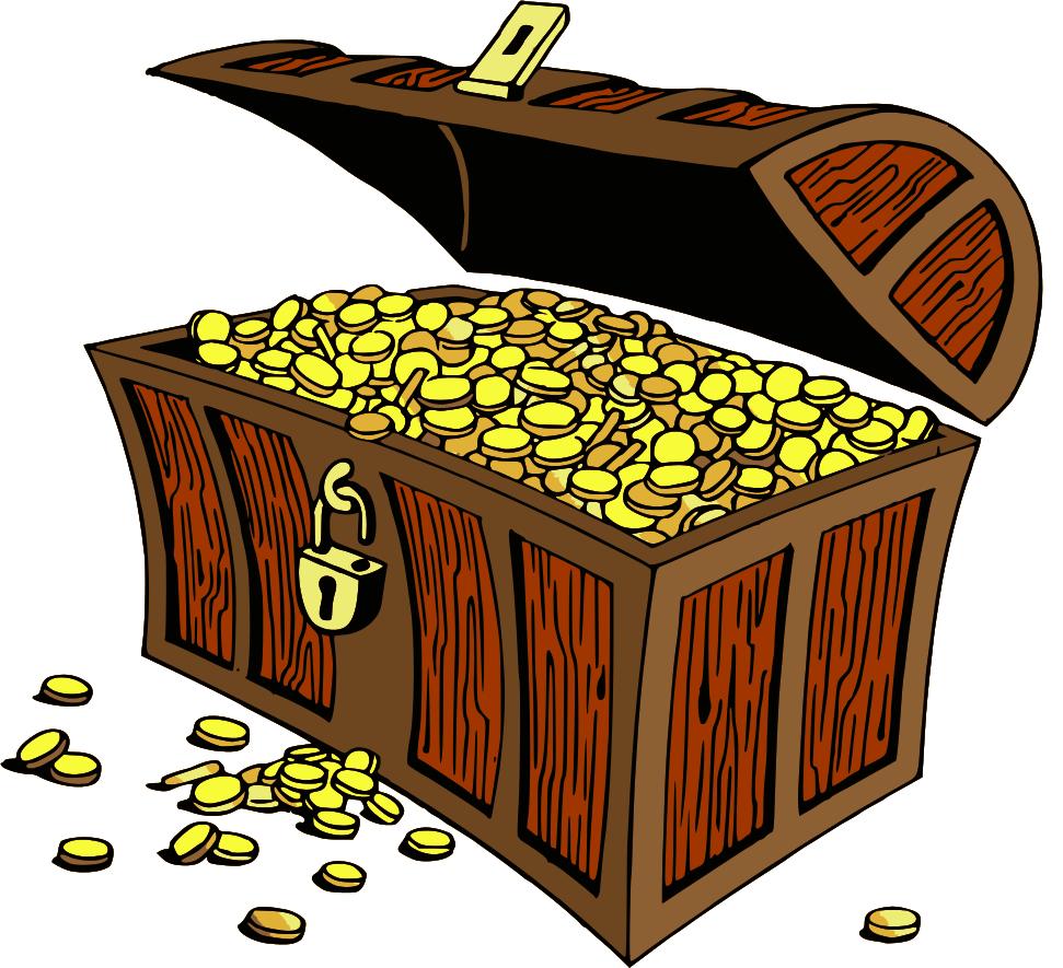 treasure box clipart clipart kid