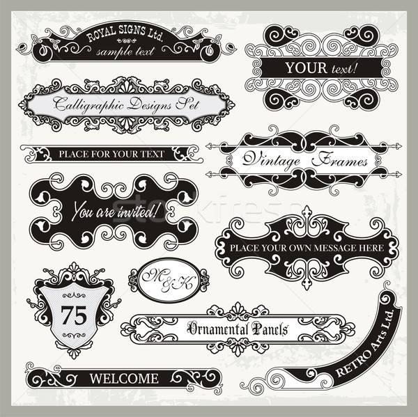 Vintage Store Signs Clipart Sign Designs In Vintage