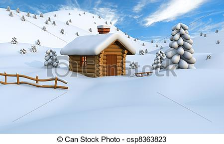 Cabin   Stock Illustration Royalty Free Illustrations Stock Clip Art