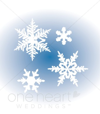 Snowflakes Clipart - Clipart Kid