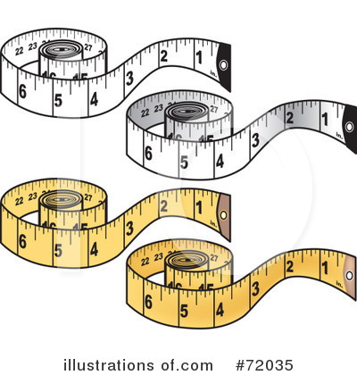 Measuring Tape Clipart  72035 By Inkgraphics   Royalty Free  Rf  Stock