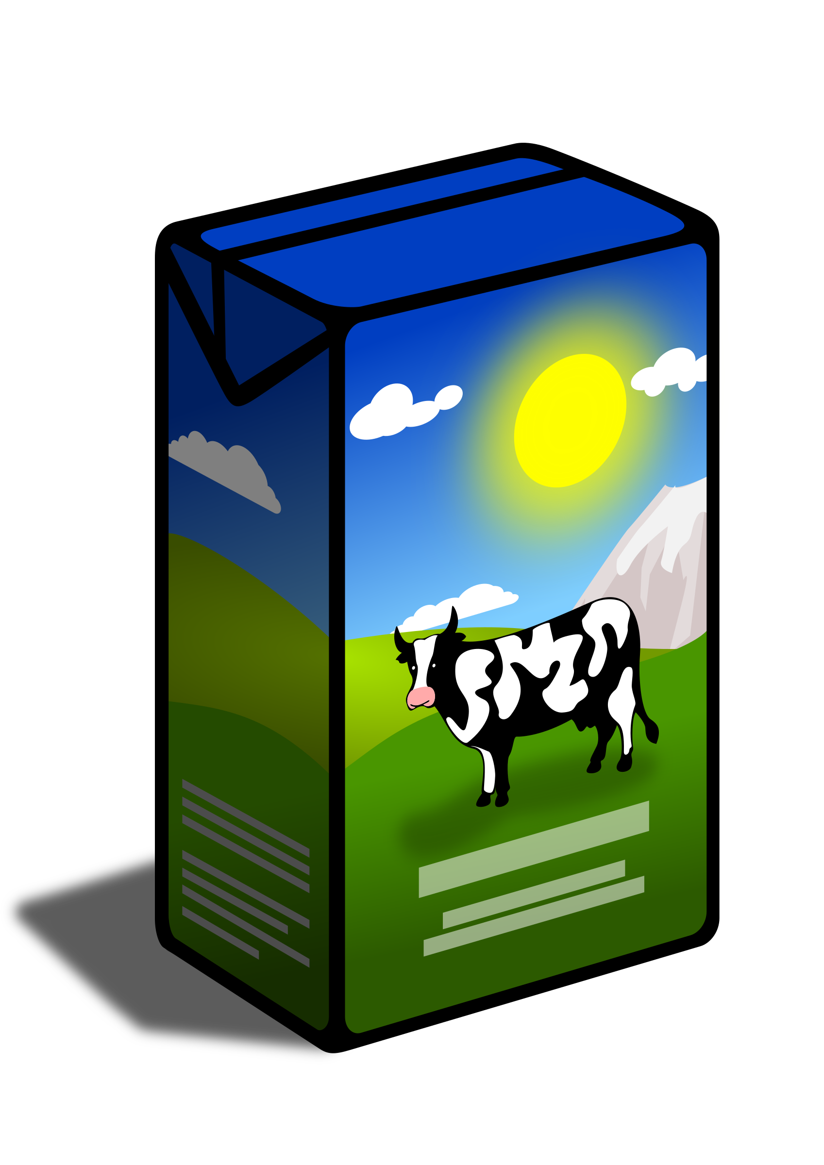 Milk Carton Microsoft Clipart - Clipart Kid