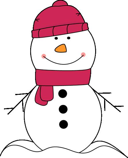 Clip Art Cute Snowman Clipart - Clipart Kid