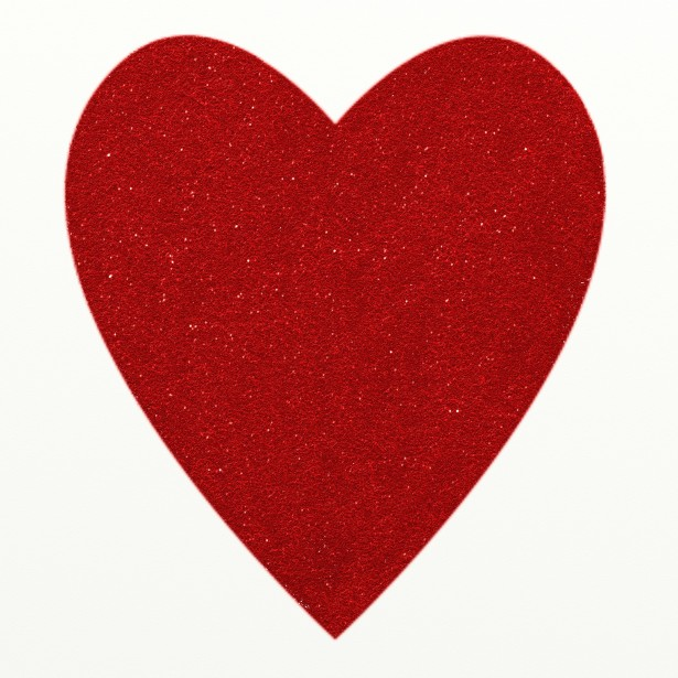 Red Glitter Heart Clipart Free Stock Photo   Public Domain Pictures