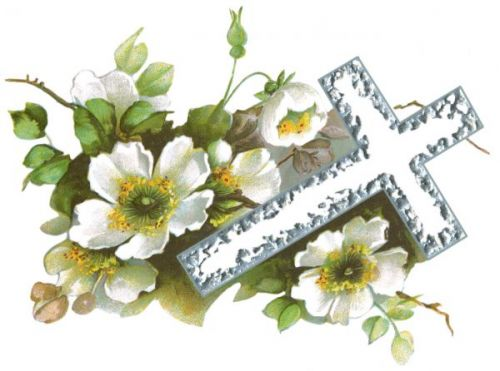Religious Easter Flowers Clip Art   Quoteeveryday Com
