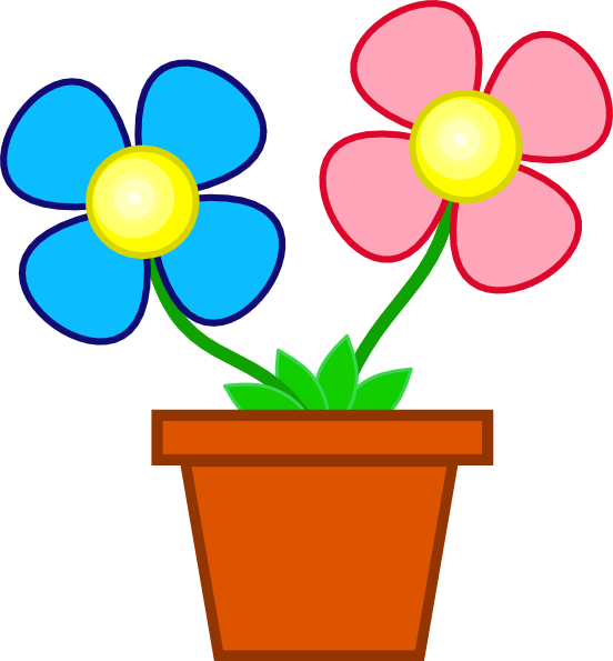 You Flowers Clipart Flower Pot Clip Artflower Pot Clipart   Clipart