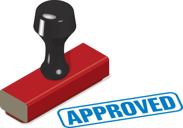 Stamp of Approval Clip Art