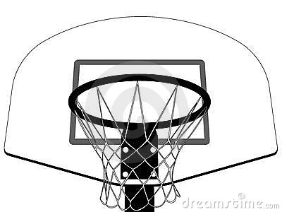 Clip Art Basketball Goal Clipart black and white basketball backboard clipart kid hoop panda free clipart