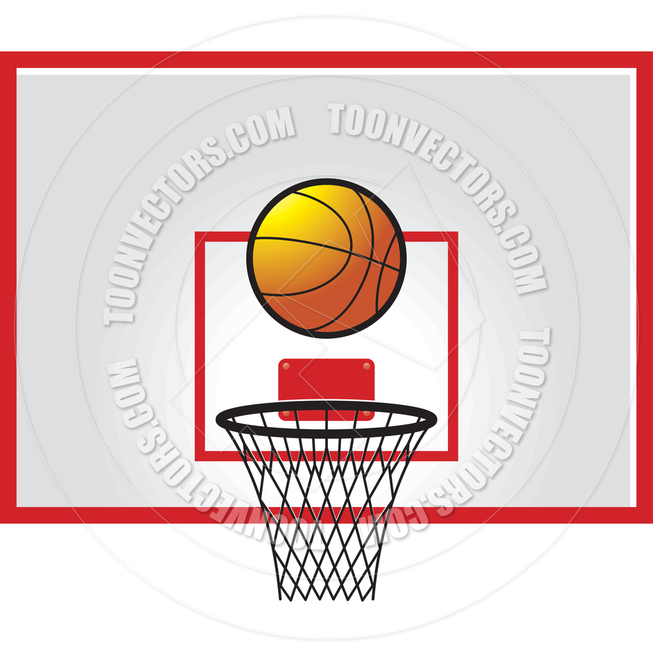 Basketball Backboard Clipart - Clipart Kid