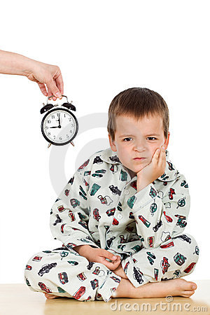 Disobedient Child Clipart Bedtime For A Displeased Kid