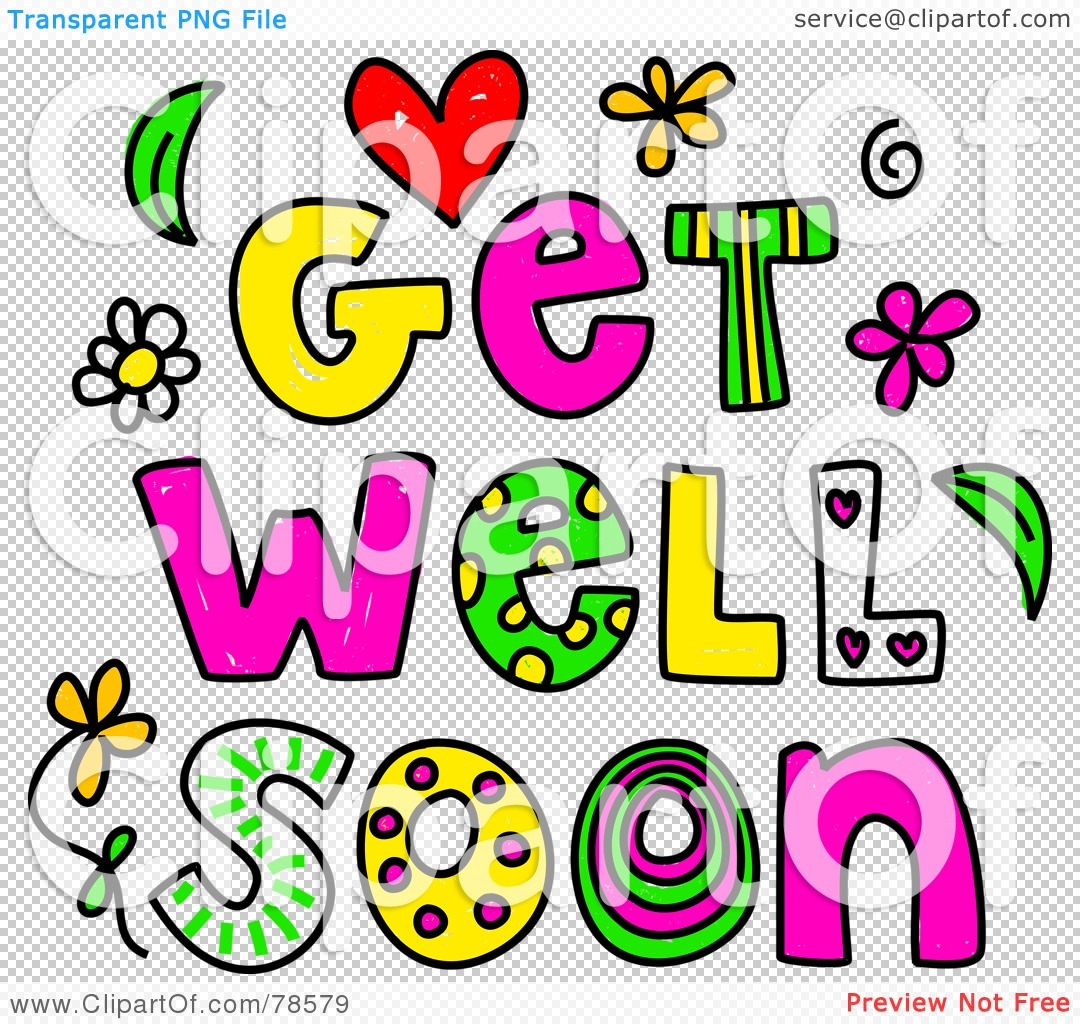 Displaying 20  Images For   Get Well Soon Clipart