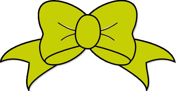 Green Bow Clipart - Clipart Kid