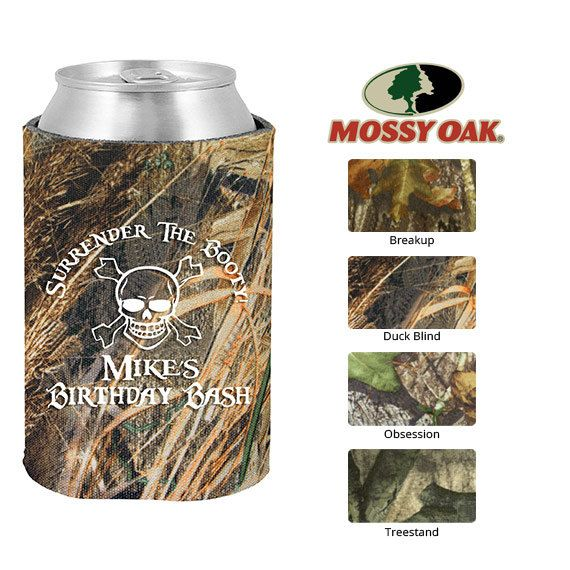 Mossy Oak Birthday Koozie  Clipart 19161  Surrender The Booty With Cr