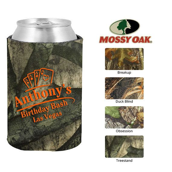 Mossy Oak Birthday Koozie  Clipart 19163  Las Vegas Playing Cards   C