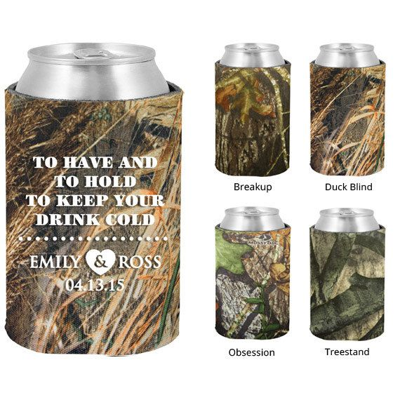 Mossy Oak Camo Koozies  Clipart 1433  To Have And To Hold Koozie   Pe