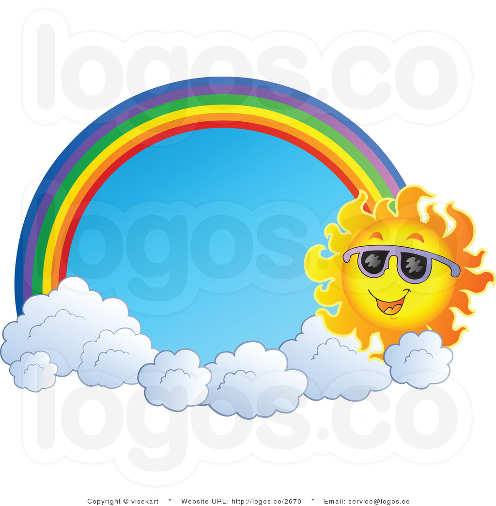 Rainbow And Sun Clipart   Clipart Panda   Free Clipart Images