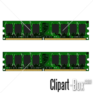 Related Computer Ram Memory Cliparts