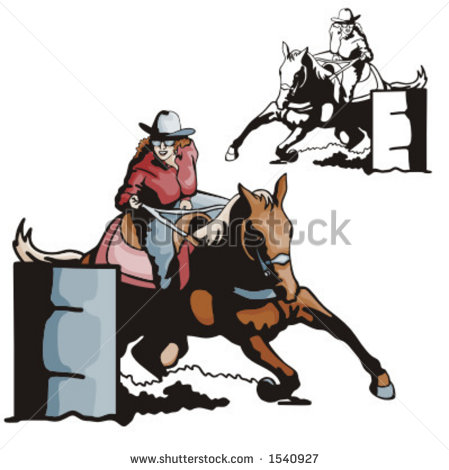 Related Pictures Barrel Racing Western Rodeo American Quarter Horse