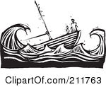 Royalty Free  Rf  Sinking Ship Clipart Illustrations Vector Graphics