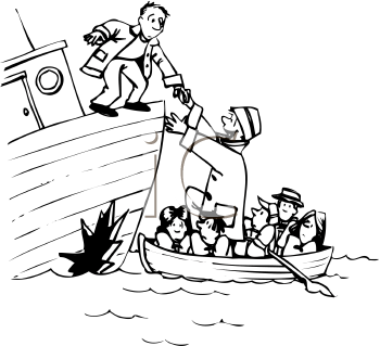 Sinking Ship Clip Art Images   Pictures   Becuo